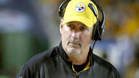 Pittsburgh defensive coordinator Keith Butler