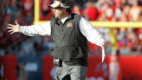 Cincinnati defensive coordinator Paul Guenther