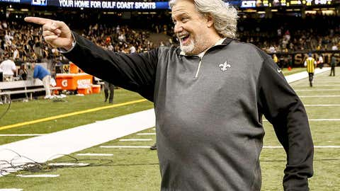 New Orleans defensive coordinator Rob Ryan