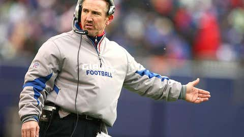 New York Giants defensive coordinator Steve Spagnuolo