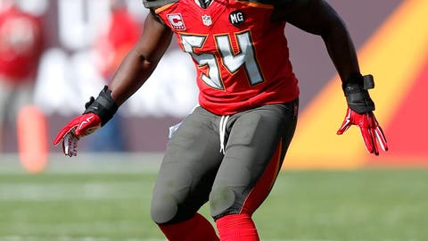 Tampa Bay linebacker Lavonte David ($738,418 with a $125,000 workout bonus)