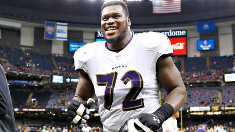 Baltimore guard Kelechi Osemele ($846,255)