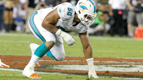 Miami defensive end Olivier Vernon ($700,000)