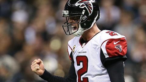 Atlanta Falcons: 18/1