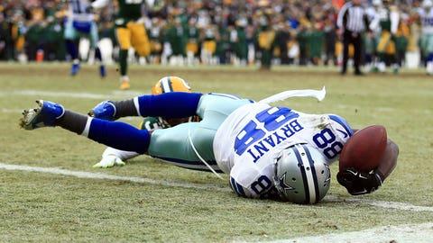 2014 season: Green Bay 26, Dallas 21
