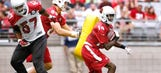 Cardinals camp report: J.J. Nelson makes fast impression