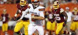Manziel finds end zone, RG3 doesn't in Browns-Redskins opener