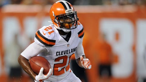 Justin Gilbert, CB, Browns/Steelers