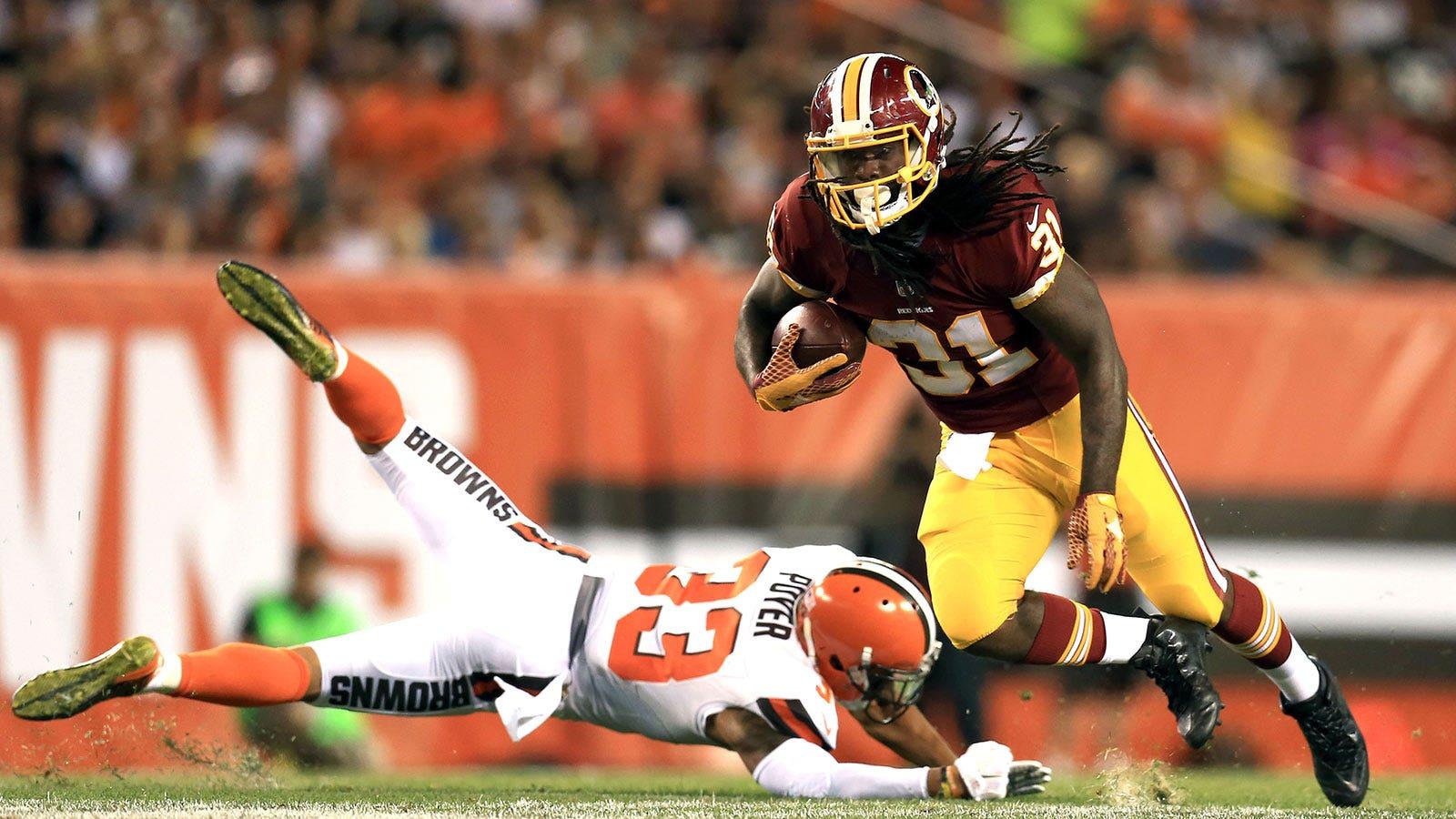 bf060175 Redskins rookie RB Matt Jones solid in his preseason debut | FOX Sports