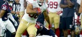 WATCH: 49ers Jarryd Hayne rips off long run vs. Texans
