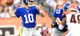 Injuries have Giants offensive line in flux for Jets' game