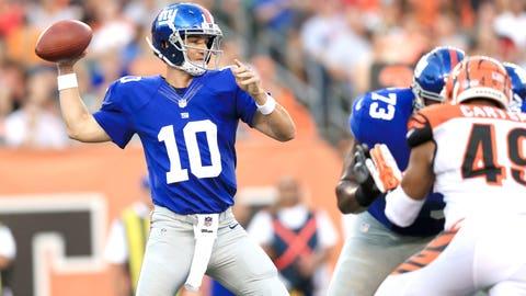 New York Giants: QB Eli Manning (34)