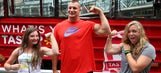 Gronk to host drinking-age-only football clinic for women