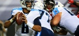 Mariota can get on with career after first practice interception