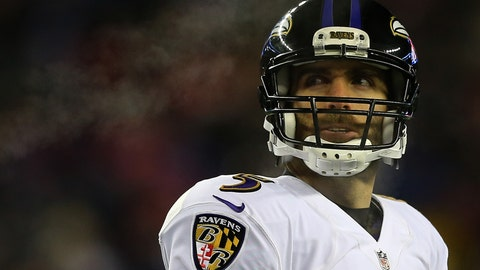 Baltimore Ravens: Joe Flacco, QB