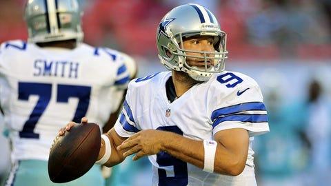 Dallas: QB Tony Romo (35)