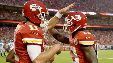 Jeremy Maclin, WR, Chiefs (groin/hamstring): Active