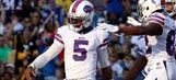 Bills QB Taylor won't dance like Cam, but 'might dab here and there'