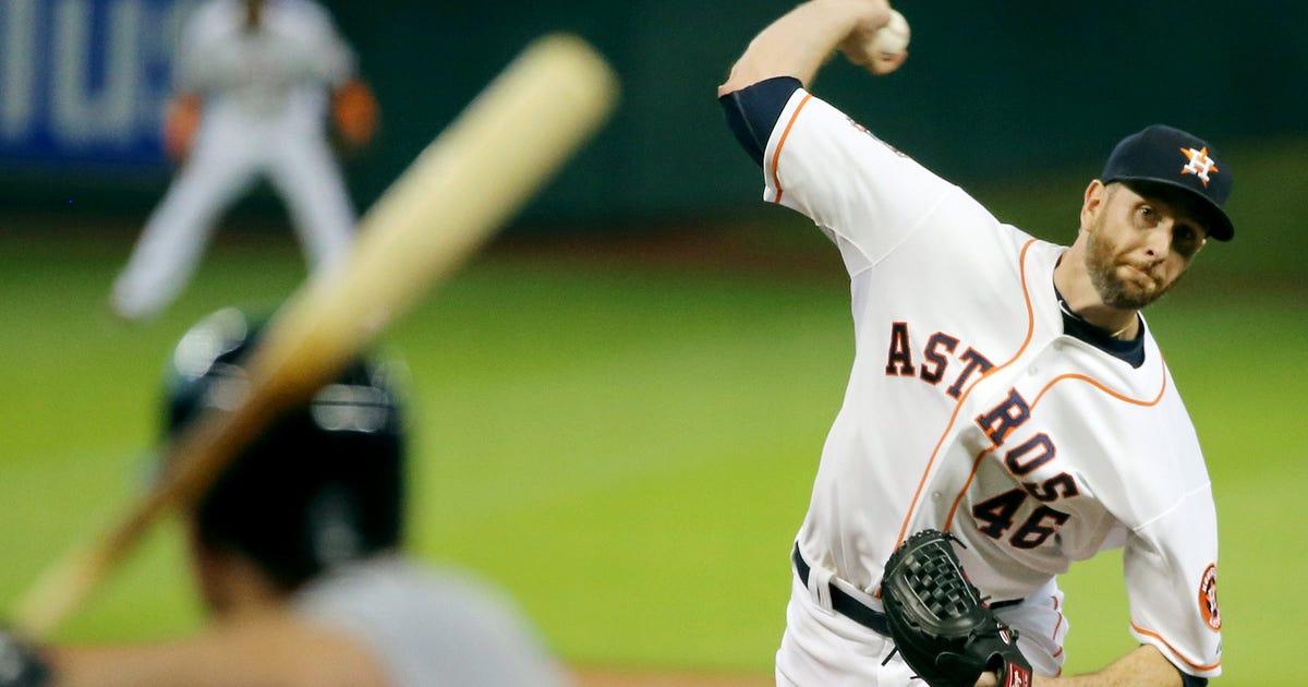 After Shoulder Pain Cuts Start Short Astros Feldman To