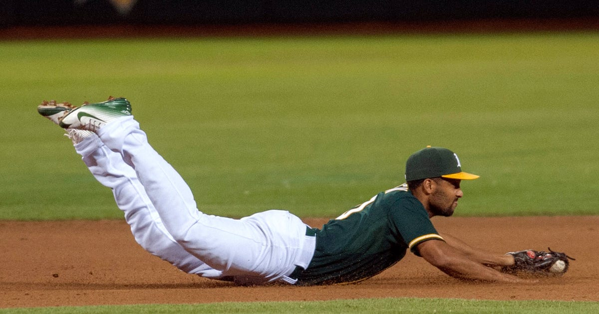 Watch A S Semien Flashes Defensive Promise With Great