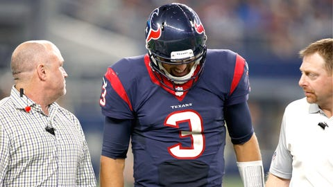 Houston Texans: Tom Savage, Brandon Weeden