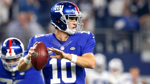 Sunday: Giants at Browns