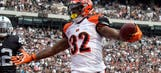 Bengals losses on o-line impact 2017 fantasy value of Dalton, Jeremy Hill