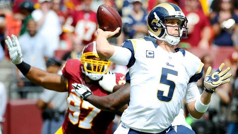 September 17: Washington Redskins at Los Angeles Rams, 4:25 p.m. ET