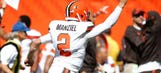 Manziel steals spotlight for Browns in win over Titans