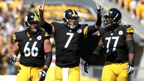Steelers (-9) over COLTS (Over/under: 48)