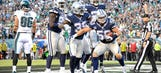 Cowboys shake off Romo's injury as Eagles offense sputters