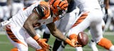 Bengals' Jeremy Hill benched after two fumbles
