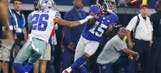Giants WR Parker drops another, leads NFL with five drops