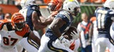 Chargers' rookie Melvin Gordon breaks through in Bengals loss