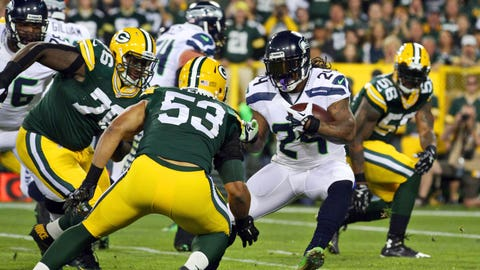 2014: Seahawks 36, Packers 16