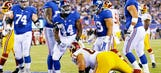 Living the dream: Giants FB Whitlock gets chance to play on defense