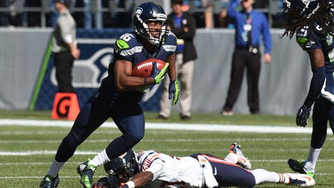Seattle returner/wide receiver Tyler Lockett