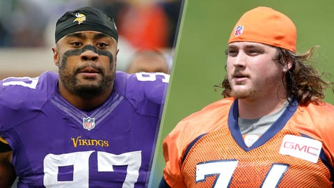 10. Vikings at Broncos: Everson Griffen vs. Ty Sambrailo