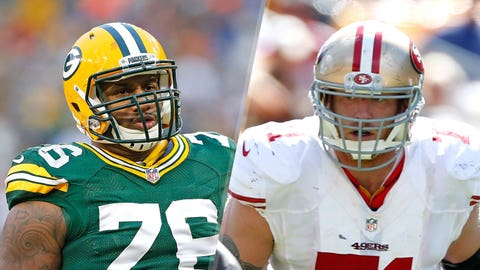 11. Packers vs. 49ers: Mike Daniels vs. Erik Pears