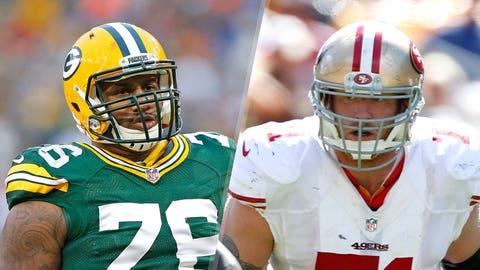 11. Packers vs. 49ers: Mike Daniels vs. Erik Pears