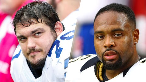 12. Cowboys at Saints: Zack Martin vs. John Jenkins