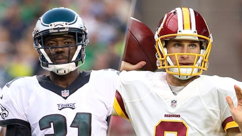 4. Eagles at Redskins: Eagles secondary vs. Kirk Cousins