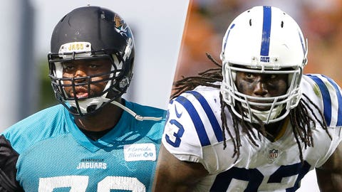 5. Jaguars at Colts: Jeremy Parnell vs. Erik Walden