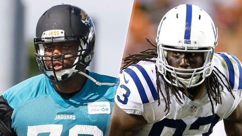5. Jaguars at Colts: Jeremy Parnell vs. Erik Walden