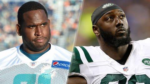 8. Jets at Dolphins: Muhammad Wilkerson vs. Jason Fox or Branden Albert