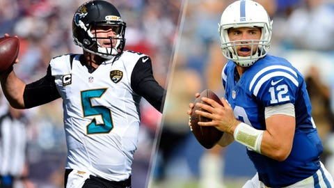 Colts (-2.5) over JAGUARS (Over/under: 49)