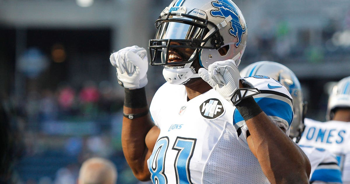 Calvin Johnson I Want To Win A Super Bowl With The Lions