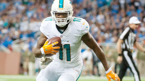 Signing WR Mike Wallace to five-year, $60 million deal
