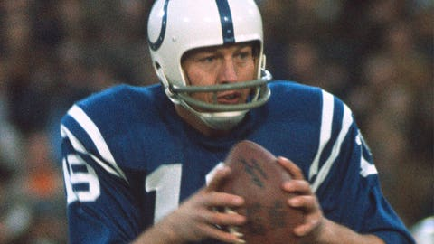 Colts QB Johnny Unitas: Chargers