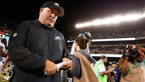 Hottest seat: Philadelphia head coach Chip Kelly